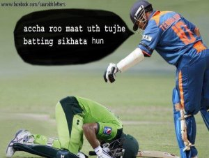 Aftermath of Indo-Pak Match