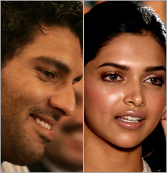 Yuvraj Singh (Talented Cricketer) & Dee-pika- Padu-Kaun (Untalented Actress cum Model)
