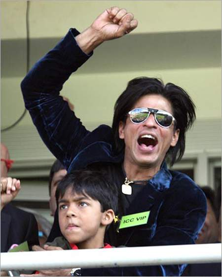 Shah Rukh Khan (Owner of Kolkata Knight Riders)