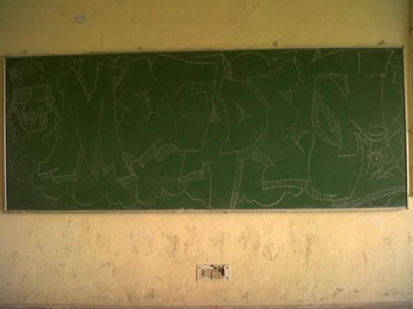 Megadeth Graffiti