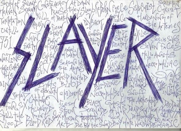 SLAYER Art