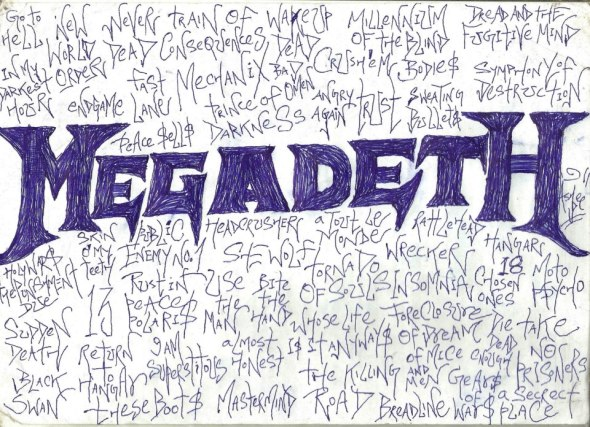 Megadeth Art